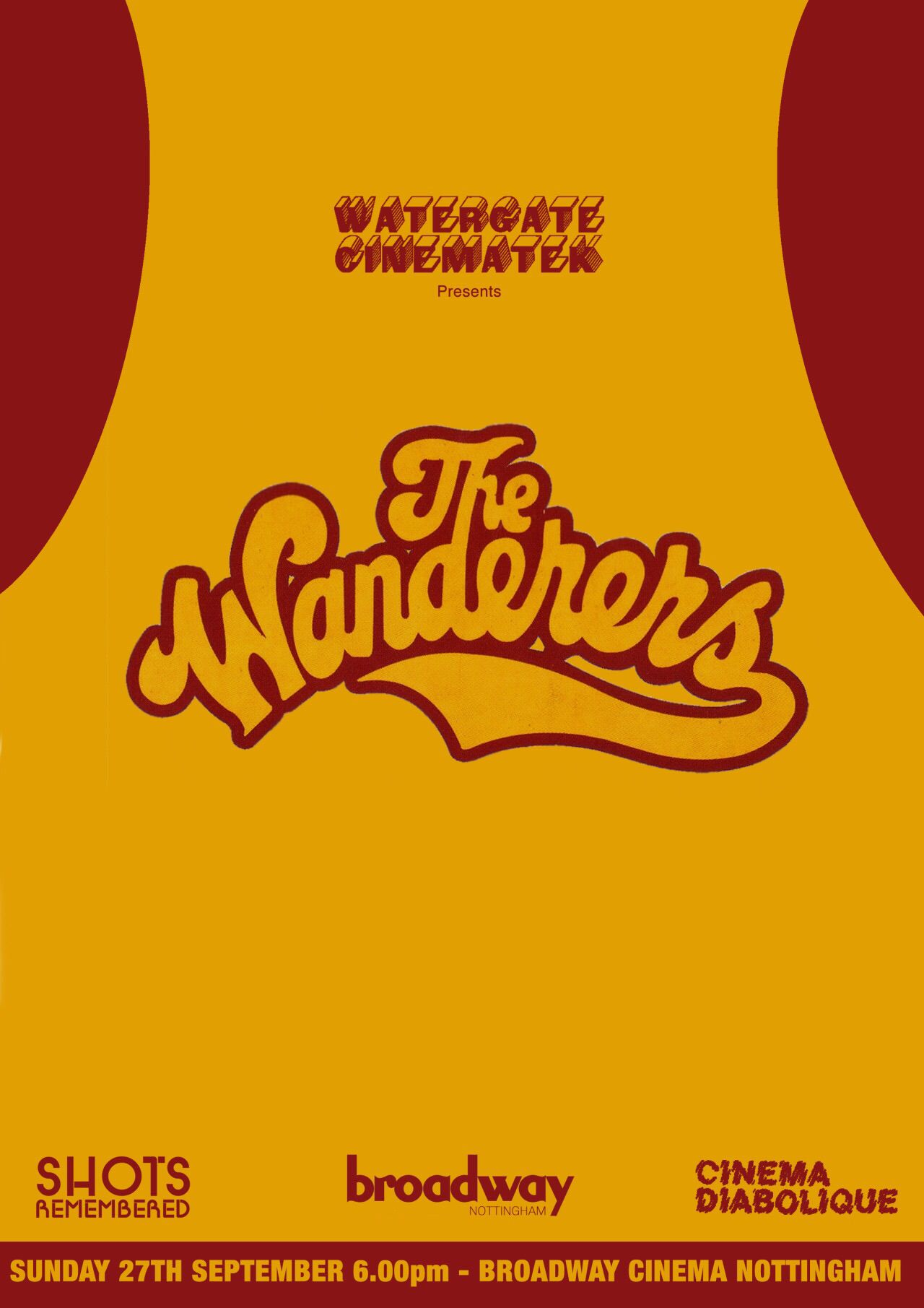 Poster design nottingham - The Wanderers Poster Design Watergate Cinematek Shots Remembered