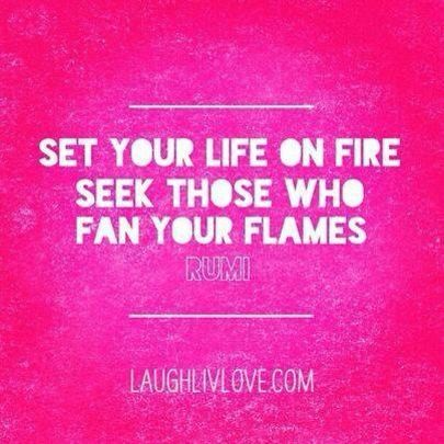 Image result for picture of the words: Be on fire with the mission