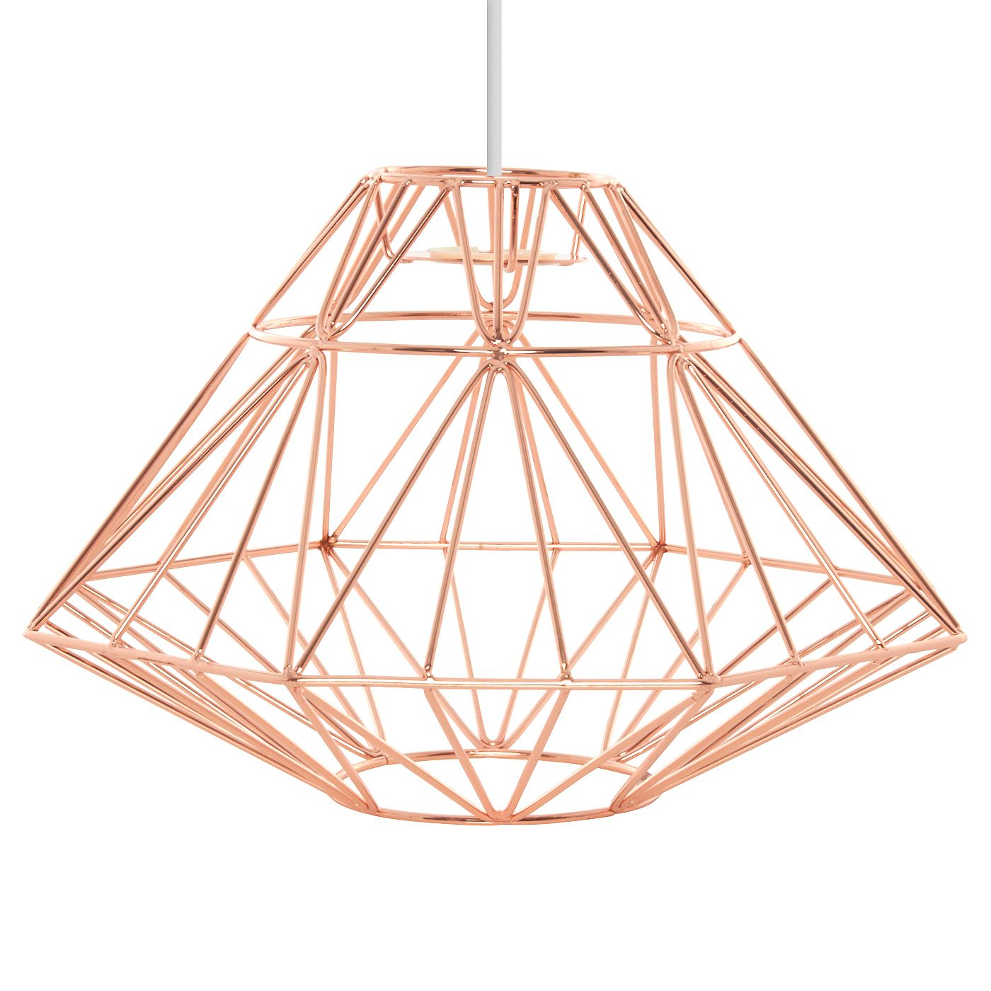 George Home Copper Origami Pendant Light Shade