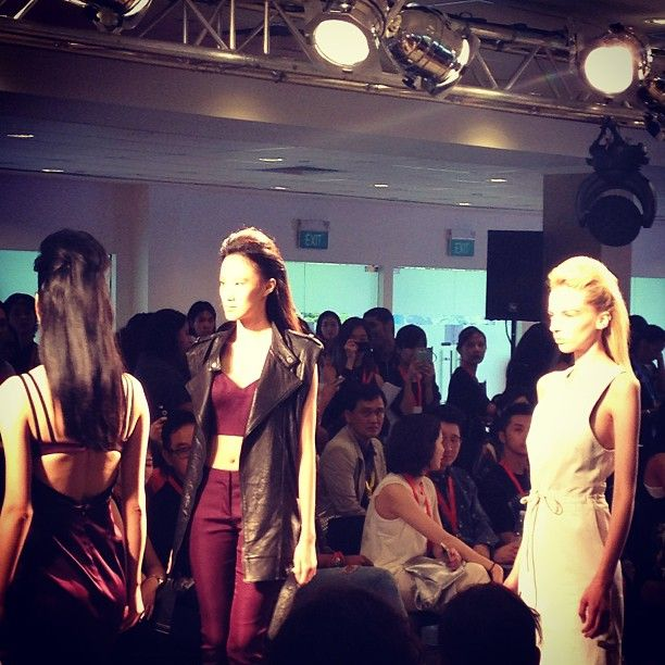 More looks from #blueprint opening cocktail & runway show. #instafashion #instastyle #instaFAB