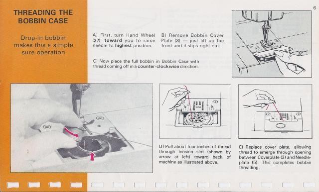Kenmore 15816800 Sewing Machine Instruction    Manual      Sewing Machine Manuals   Sewing     Manual
