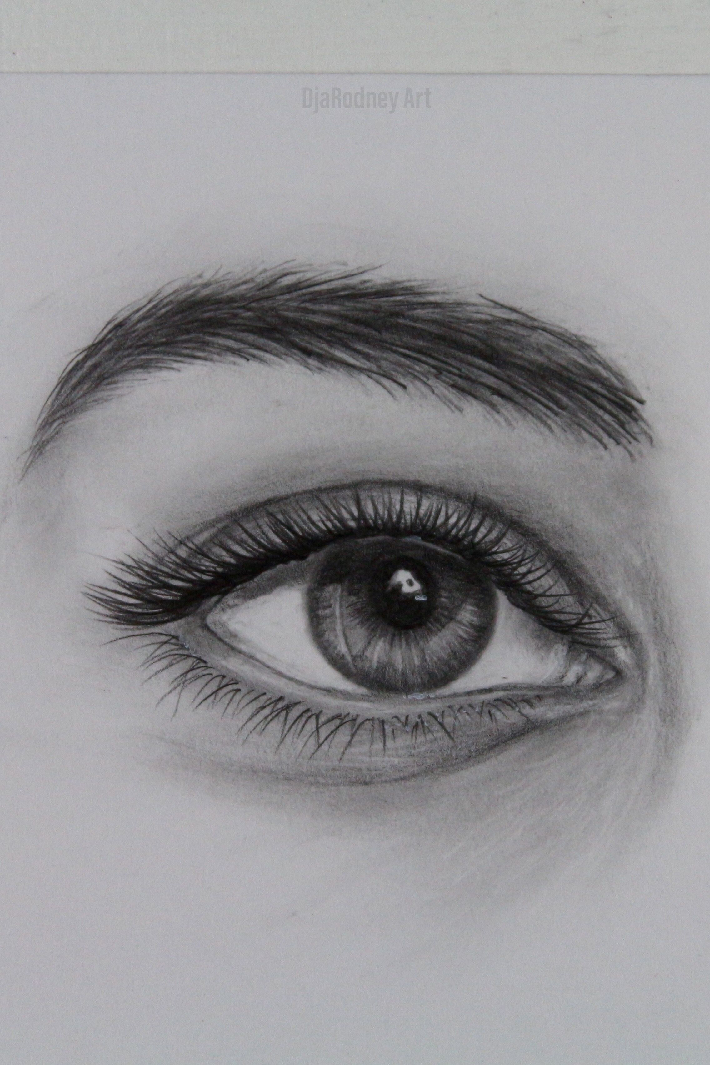 How To Draw Realistic Eyes Easy Step By Step Eye Drawing Tutorial