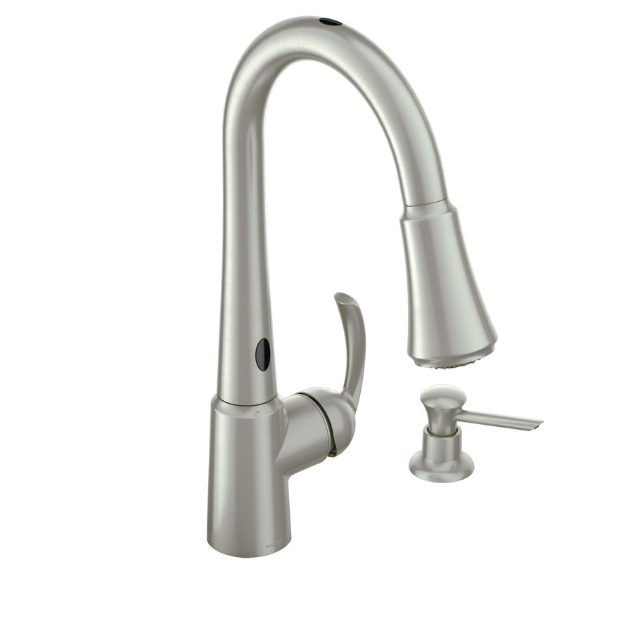 Shop Moen Delaney With Motionsense Spot Resist Stainless 1 Handle