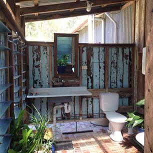 Rustic Outdoor Bathroom Google Search Outdoor Bathrooms Outdoor Bathroom Design Rustic Outdoor