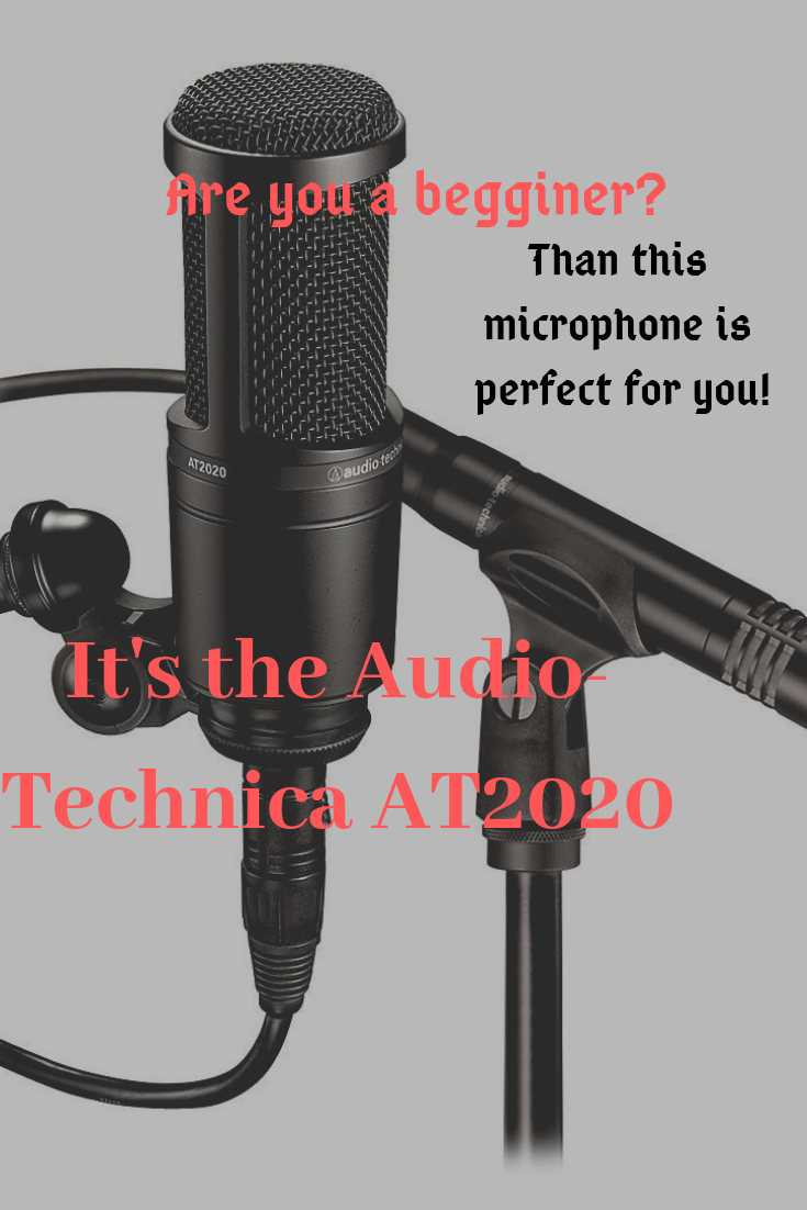 Easy To Use And Perfect For Beginners Sounds Like Magic In Reality It S The Audio Technica At2020 Cardioid Condenser Studio X Audio Technica Microphone Audio
