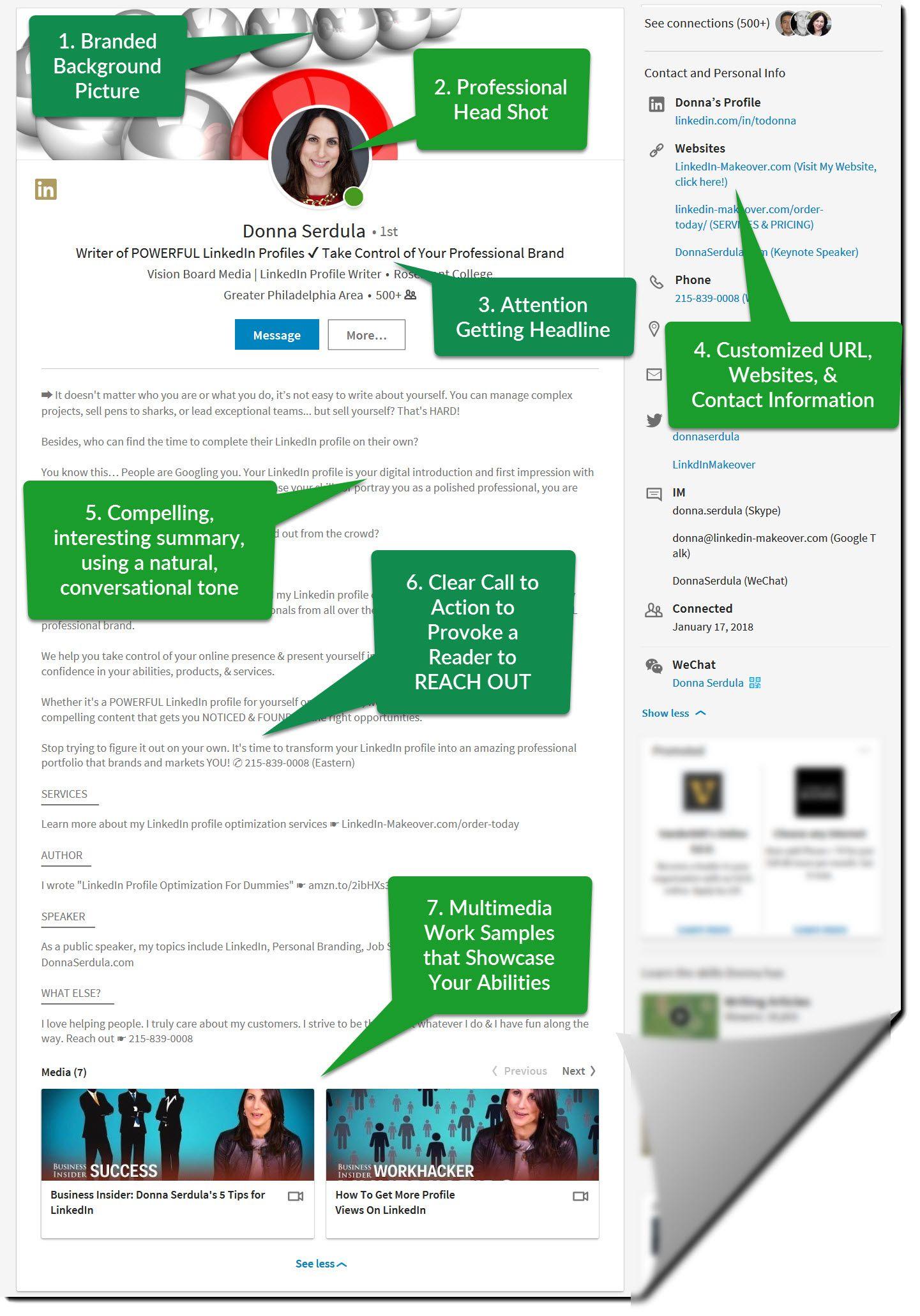Best Linkedin Profile Example Best Linkedin Profiles Linkedin Profile Linkedin