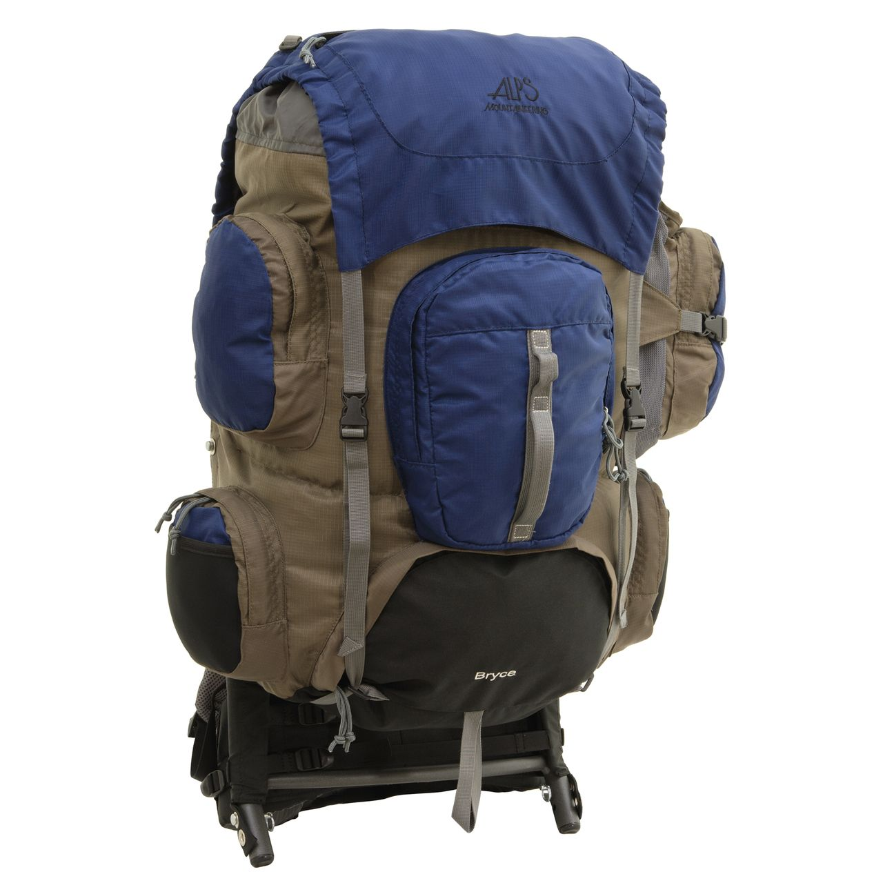 Alps Mountaineering Bryce External Frame Backpack 3600 | Camping ...