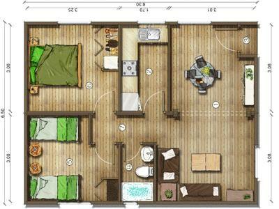 planos de casas pequeas con con medidas buscar con google