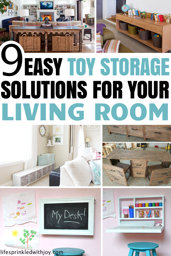 Great Toy Storage Ideas For Your Living Room Organizing