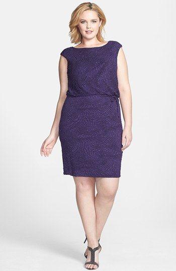 London Times Sparkle Plisse Blouson Dress Plus Size Nordstrom Blouson Dress Dresses Plus Size Dresses
