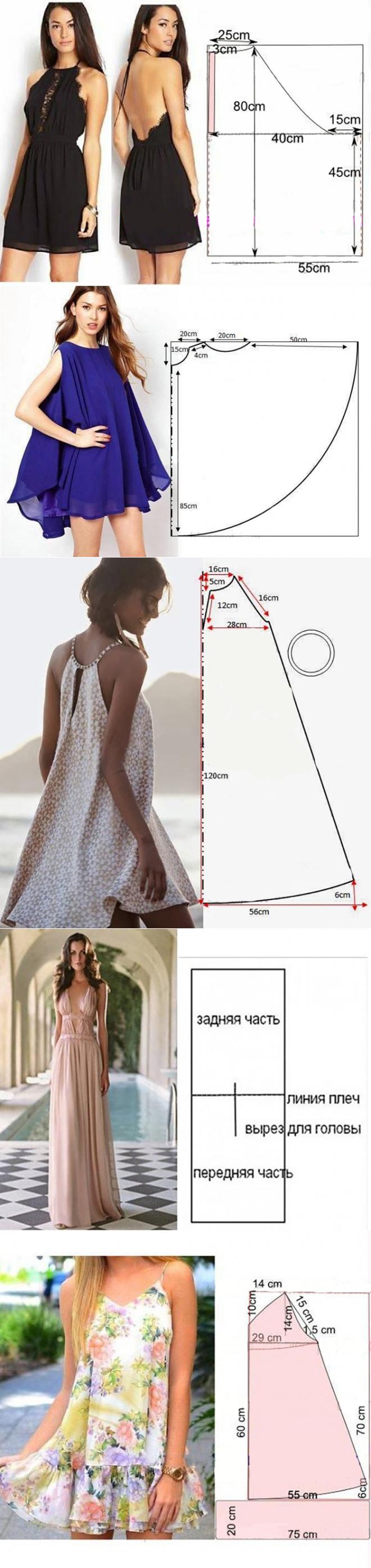 Vesvestidos frescos. tido | Proyectos de costura | Pinterest ...
