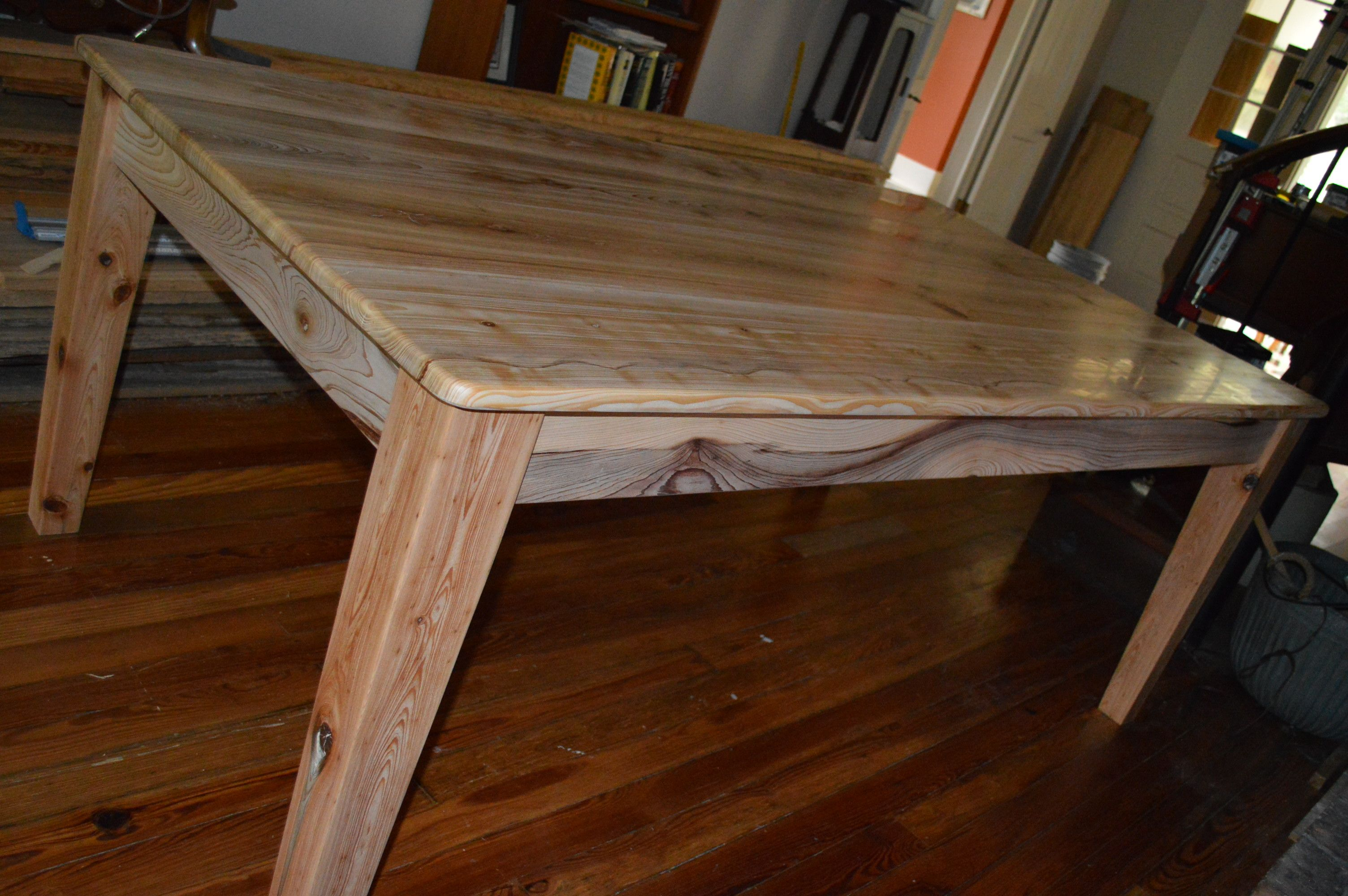 Miraculous Cypress Farm Table Bare Wood Burnished To 3000 Grit Call Don Lamtechconsult Wood Chair Design Ideas Lamtechconsultcom