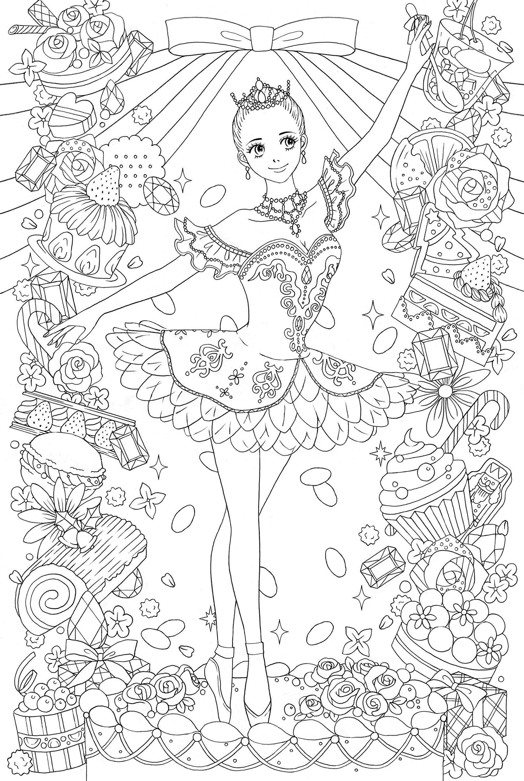 ぜったいキレイに仕上がる塗り絵 ビューティフル・ドレス ~世界の美しい ...