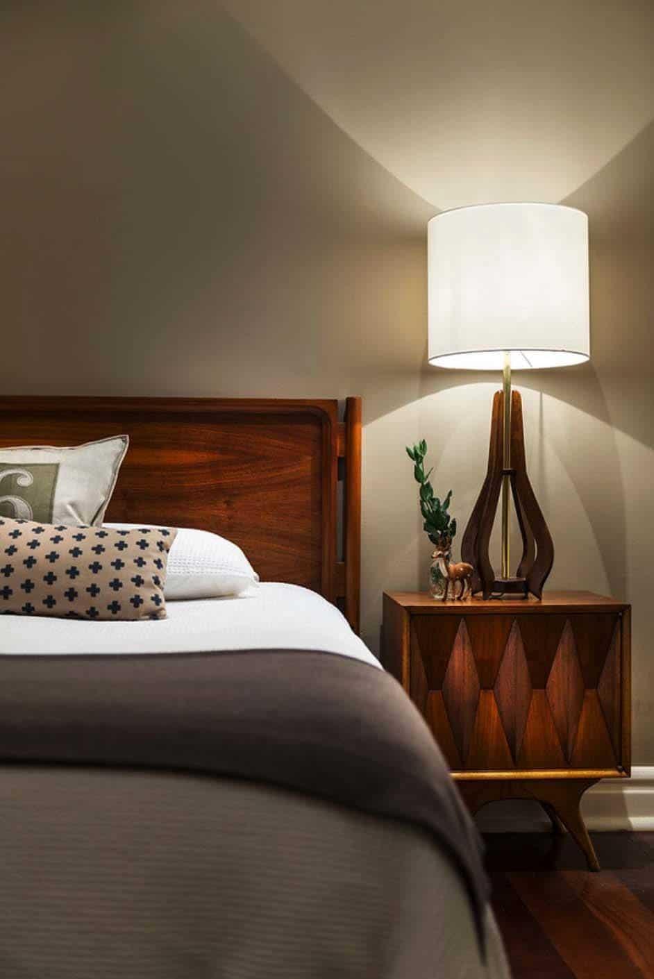 Best 35 Wonderfully Stylish Mid Century Modern Bedrooms 400 x 300