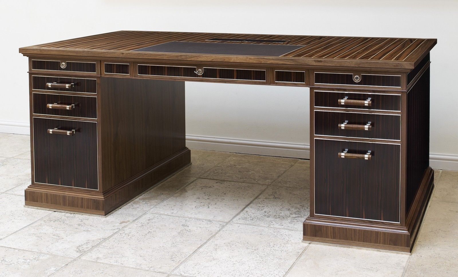 bespoke office desks. LINLEY | Bespoke Design \u0026 Furniture Desk With Secret Drawers Office Desks T