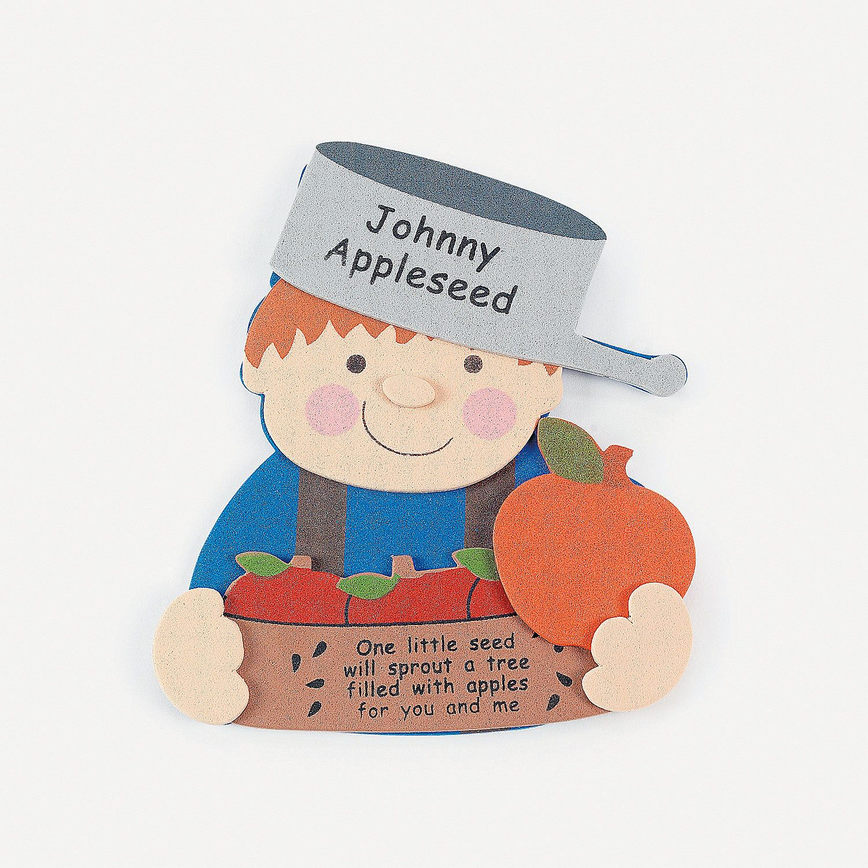 Johnny Appleseed Magnet Craft Kit