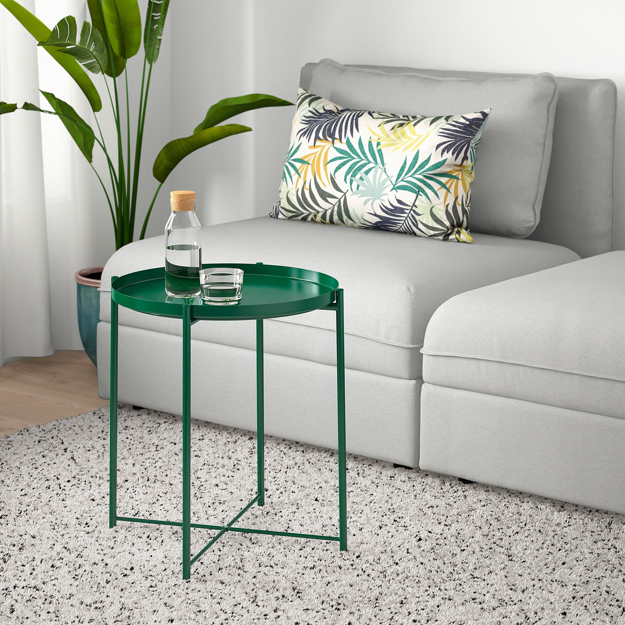 Gladom Tray Table Green 17 1 2x20 5 8 Ikea In 2021 Tray Table Coffee Table Living Room Table [ 2000 x 2000 Pixel ]