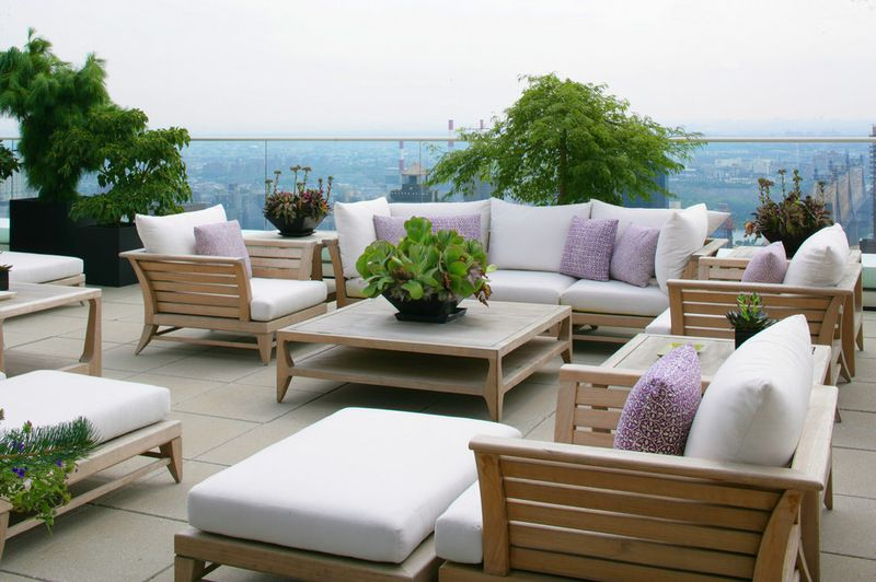 A rooftop garden from which to enjoy the view