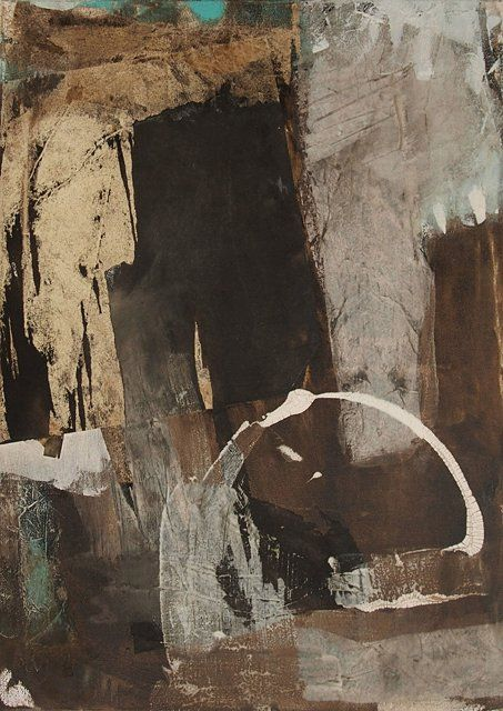 Abstrakte Kunst von Iris Rickart / Unikatbild 219 / Mischtechnik ...