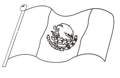 Bandera Para Colorear Ideal Para Los Mas Peques Bandera Para Colorear Mexico Bandera Lectura Cortas Para Ninos