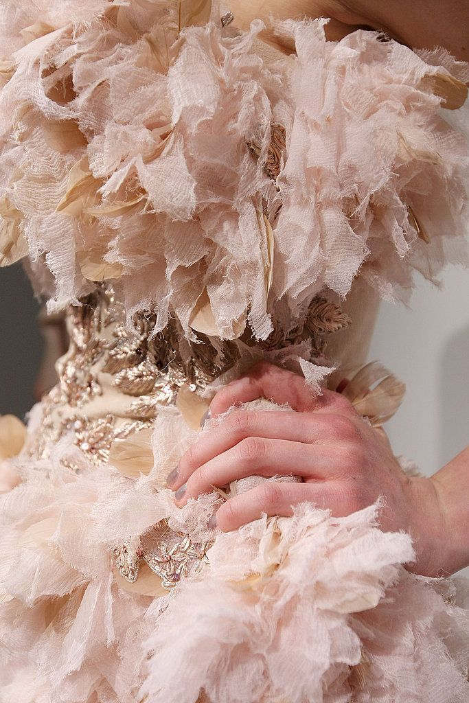 At Marchesa Fall 2009, Beauty Is Pain Photo 2