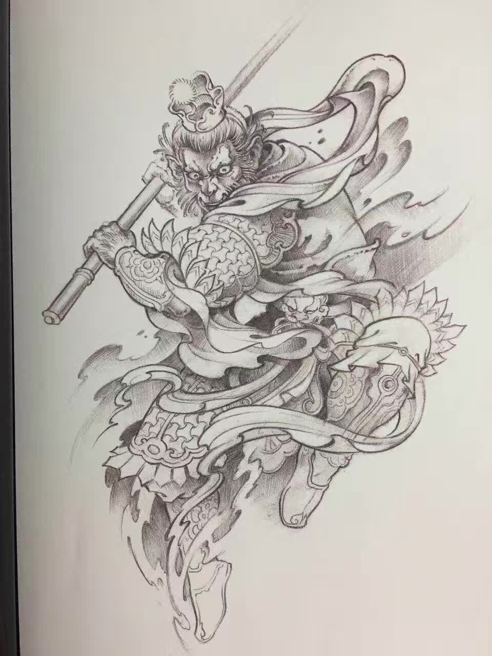 Samurai Japonese Girl Tattoo Design Tattoo Designs For Girls Female Samurai Tattoo Japanese Girl Tattoo