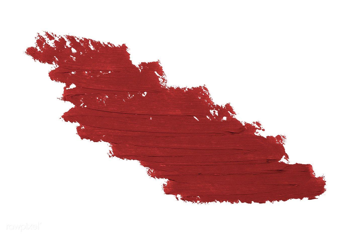 Download Premium Psd Of Red Lipstick Smudge Badge Background 552965 Lipstick Smudge Pink Lipstick Smudging