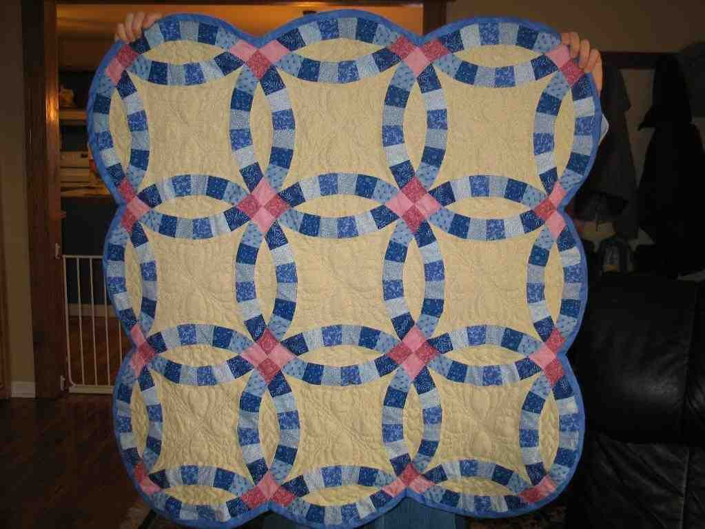 double wedding ring quilts for sale - Wedding Ring Quilts For Sale
