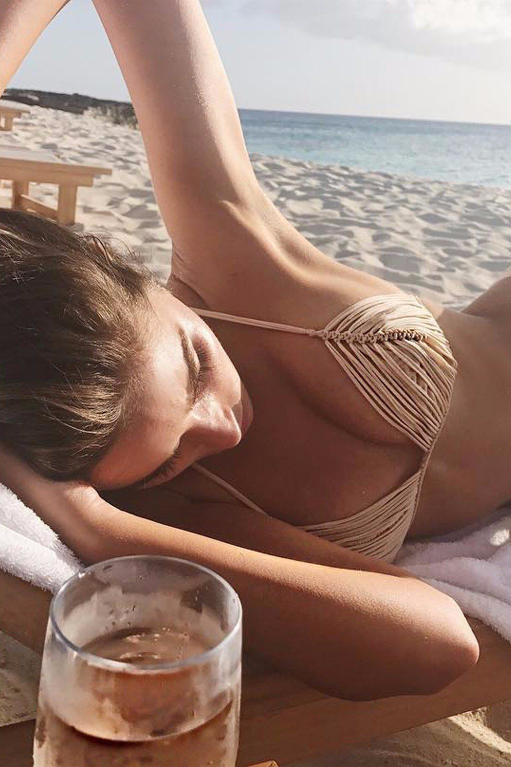 fd84fa21a6c Olivia Culpo Redefines the String Bikini in Her Sexiest Swimsuit Yet ...