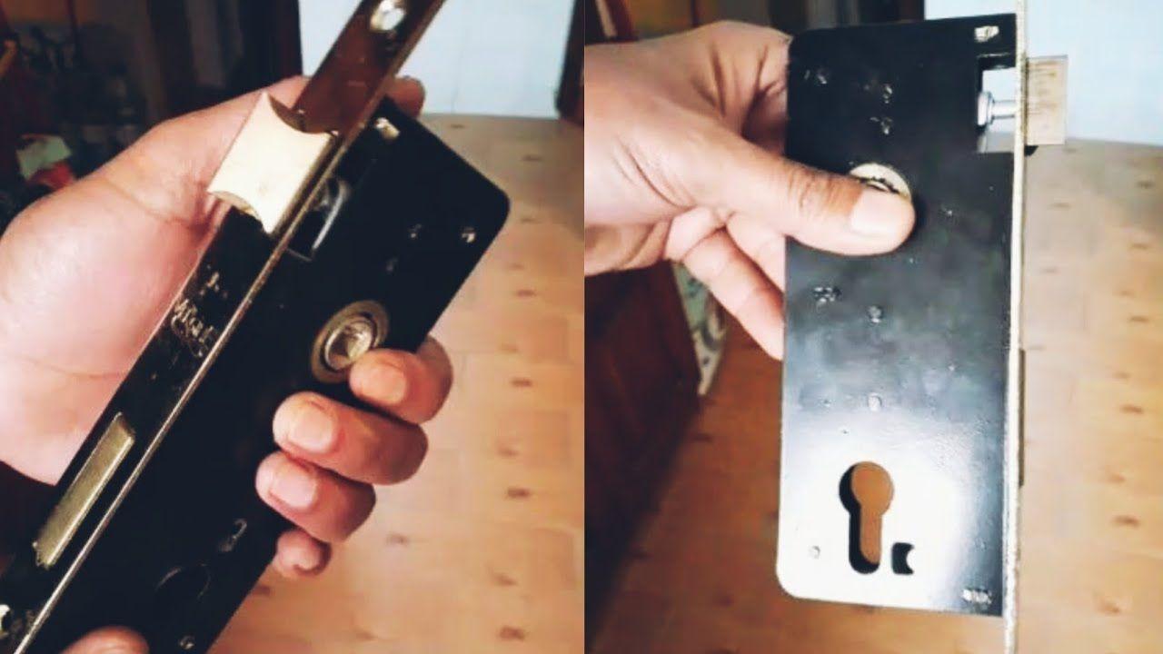 طريقة تركيب كالون الباب الخشب وتغير طبلة الباب واكرة الباب بنفسك Wood Doors Installation Doors