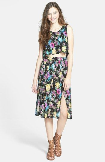 Lush Top & Skirt  available at #Nordstrom