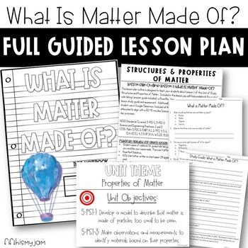 5th Grade NGSS // What is Matter Made Of? // Full Guided
