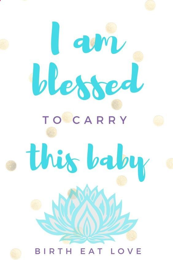 Inspiring pregnancy quote to remind you all that you are blessed! Maternity Inspiration | Motherhood Inspiration | Pregnancy | Parenting Quotes | Pregnancy Quotes