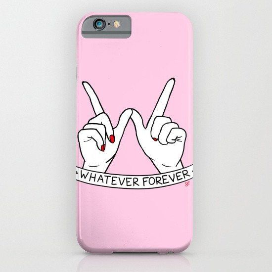 Whatever Forever iphone case, smartphone