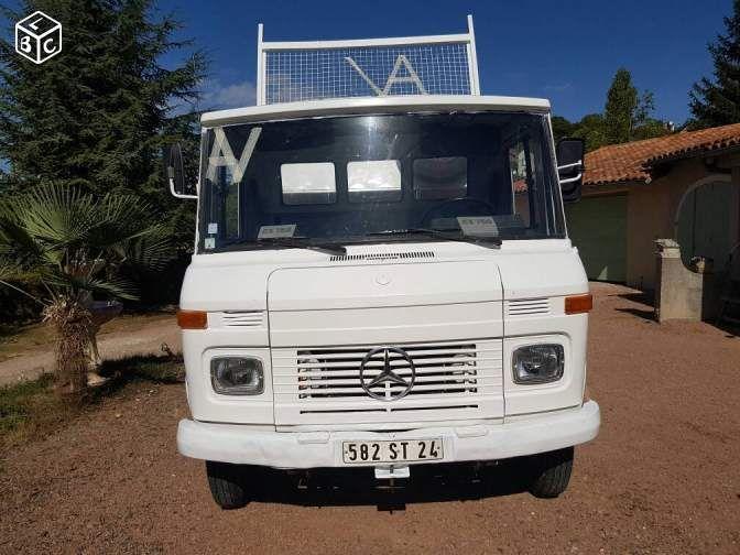 camion benne mercedes 3t5 camion pinterest utilitaire. Black Bedroom Furniture Sets. Home Design Ideas