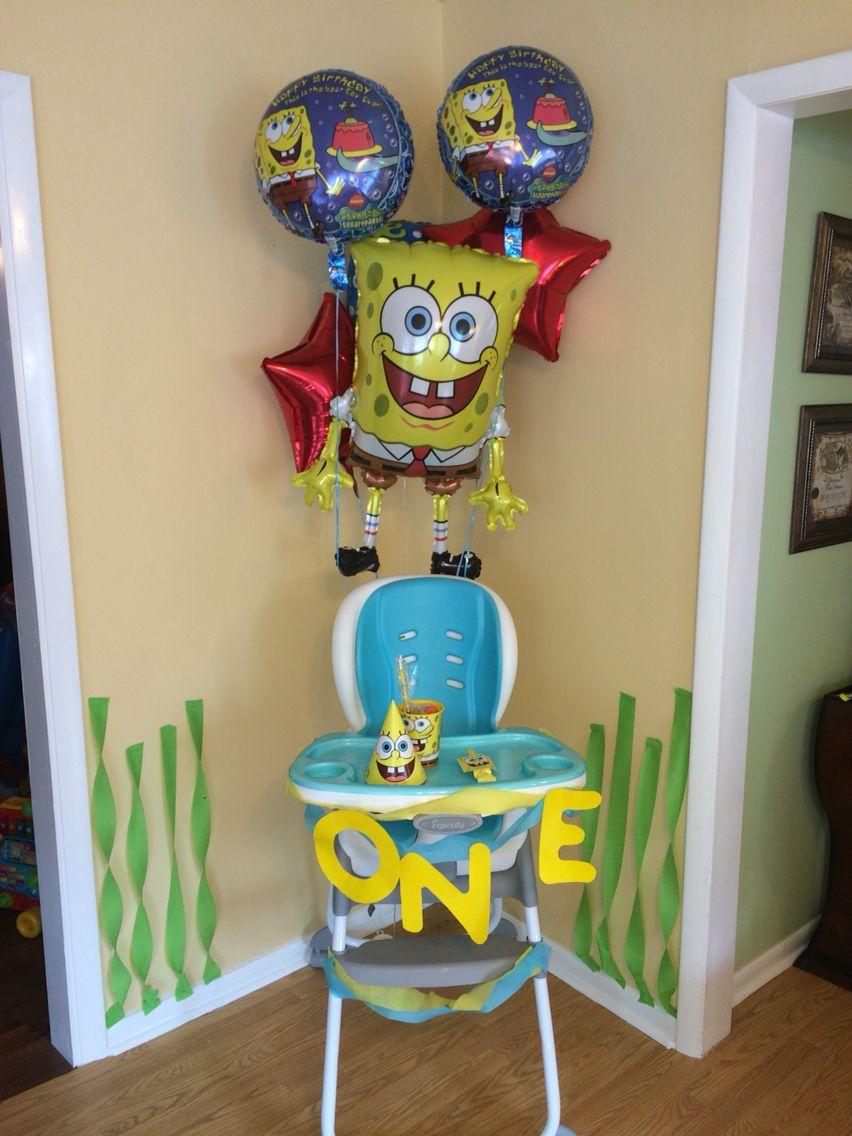 Spongebob Bedroom Furniture Spongebob Birthday Spongebob Birthday Pinterest Birthdays