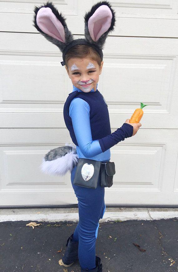 Judy Hopps Costume Zootopia por JustSewSpecialShop en Etsy - halloween costume ideas 2016 kids