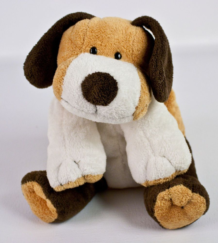 Ty Pluffies Whiffer Puppy Dog Plush Brown White Beagle Stuffed Animal Lovey 2002 Dogs And Puppies White Beagle Puppies [ 1000 x 898 Pixel ]