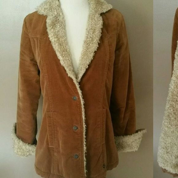 Abercrombie & Fitch Jacket Lightly worn, lined jacket!!! Very warm!!! Abercrombie & Fitch Jackets & Coats Pea Coats