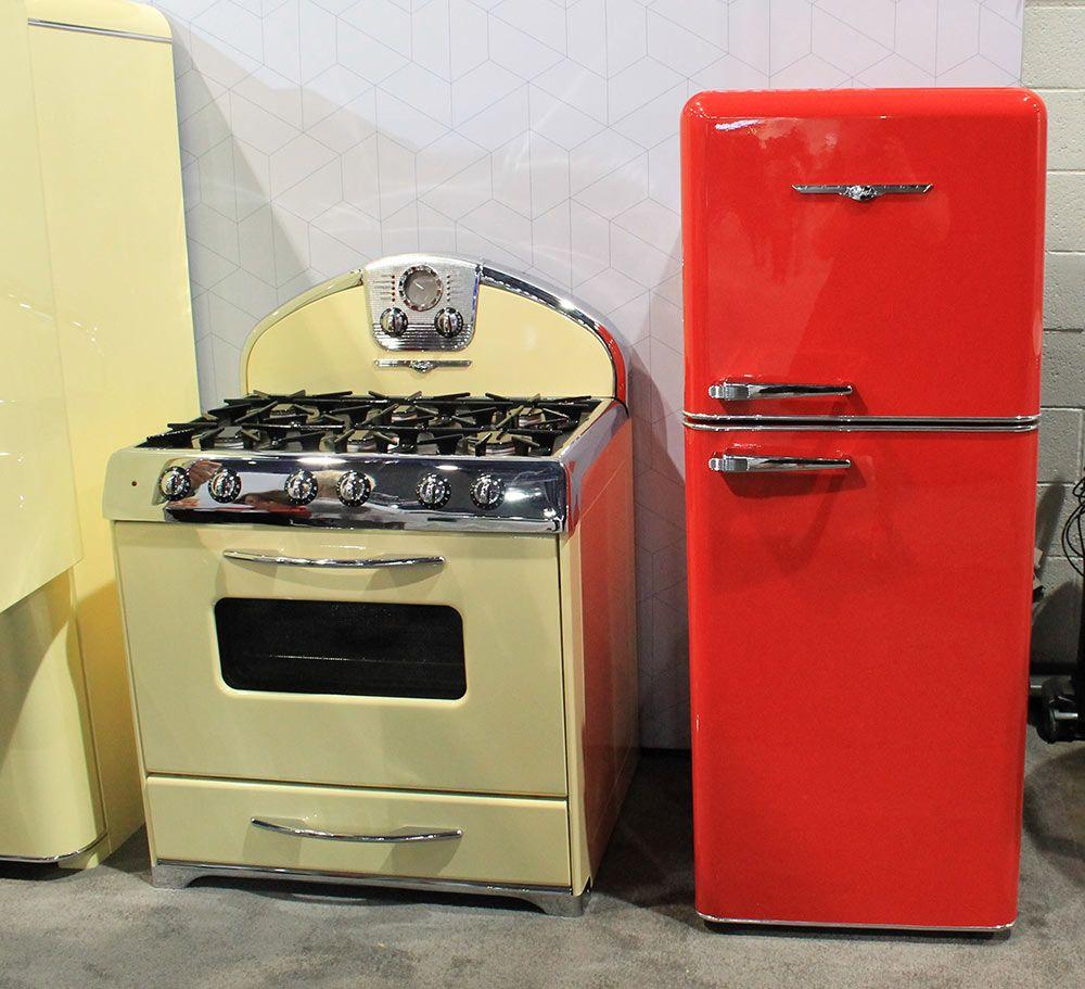 Northstar vintage style kitchen appliances from Elmira Stove Works