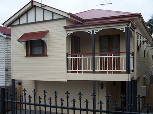 Small Queenslander Bathroom front of the dawson traditional queenslander built for small inner