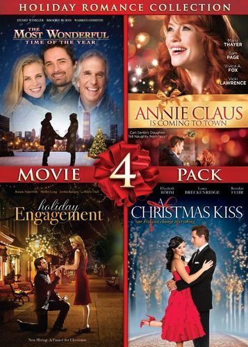 Holiday Romance Collection Movie 4 Pack 2 Discs Dvd Holiday