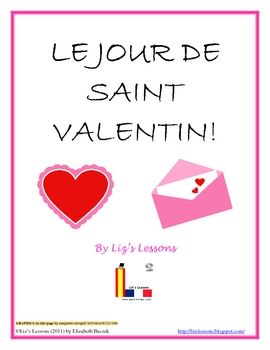 Le jour de saint valentin french valentines day activities my includes vocabulary and expressions greeting card templates directions for making virtual french greeting cards valentines wordleword cloud activity m4hsunfo