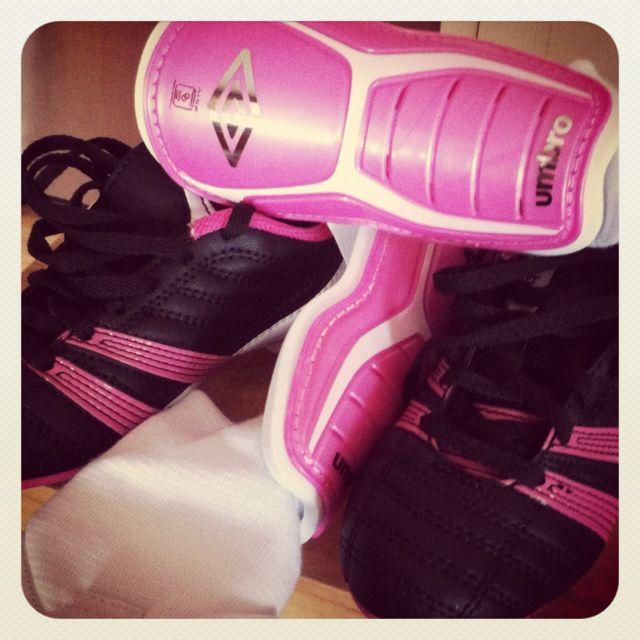 Bella's soccer gear.