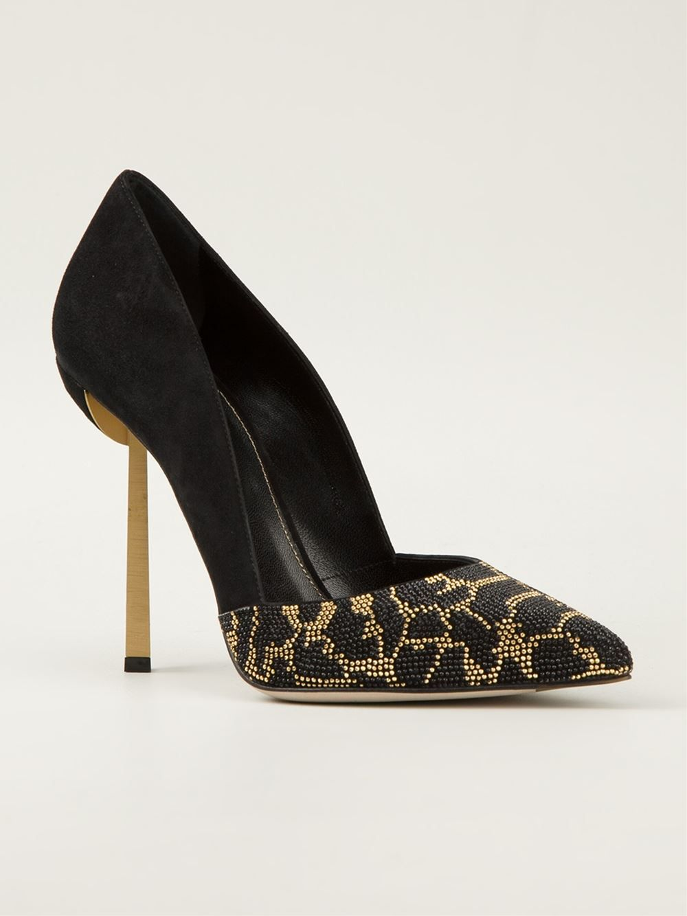 Sergio Rossi Beaded Pointed-Toe Pumps clearance best cheap with mastercard 0tm5GsfuSb