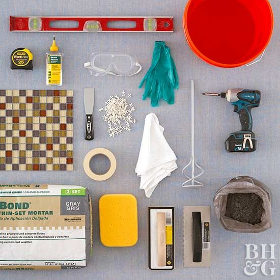 how to tile your backsplash mosaic tile sheets grout sealer and grout