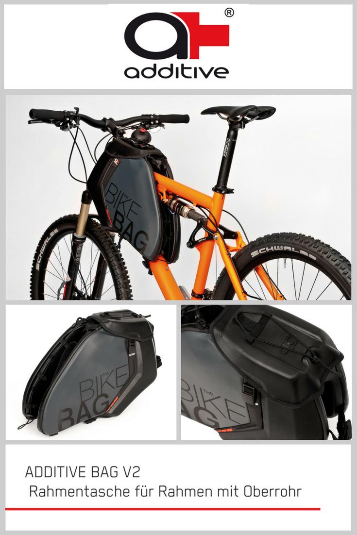 die ADDITIVE BAG V2 - die Fahrrad Rahmentasche für MTB Fullys und e ...