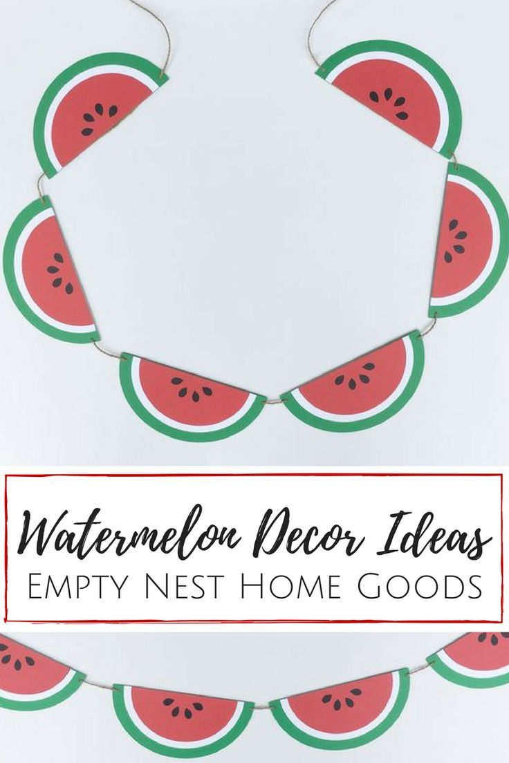 You\'re One In A Melon: Watermelon Party Ideas | Pinterest ...