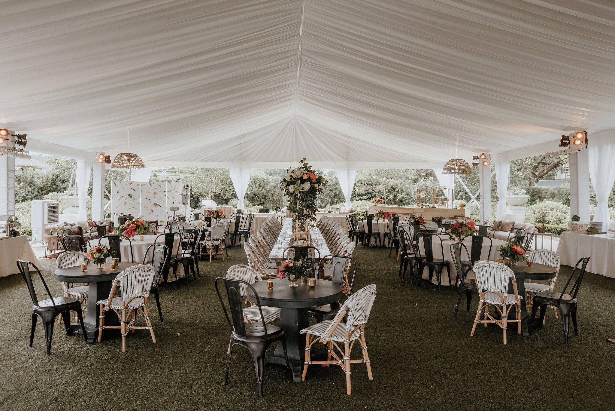 Mcgovern Centennial Gardens Tent Reception Wedding