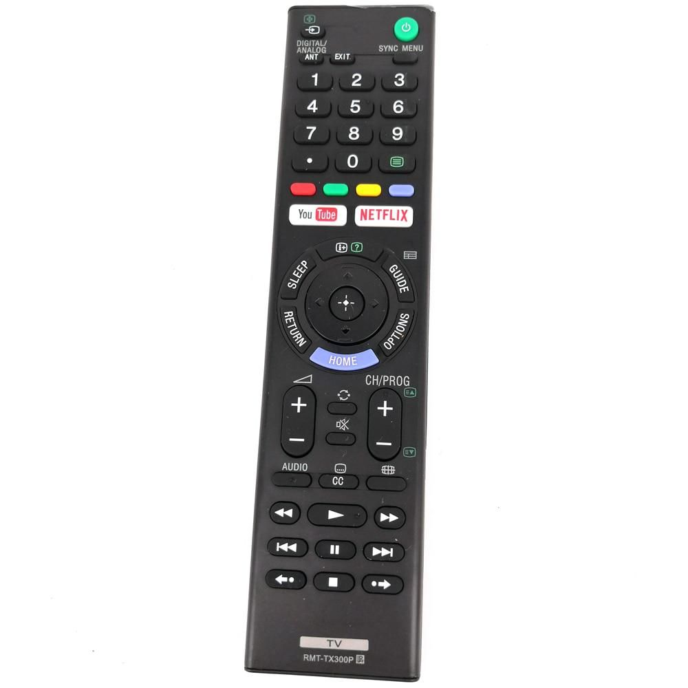 New RMTTX300P Remote Control For SONY TV 4K HDR Ultra HD